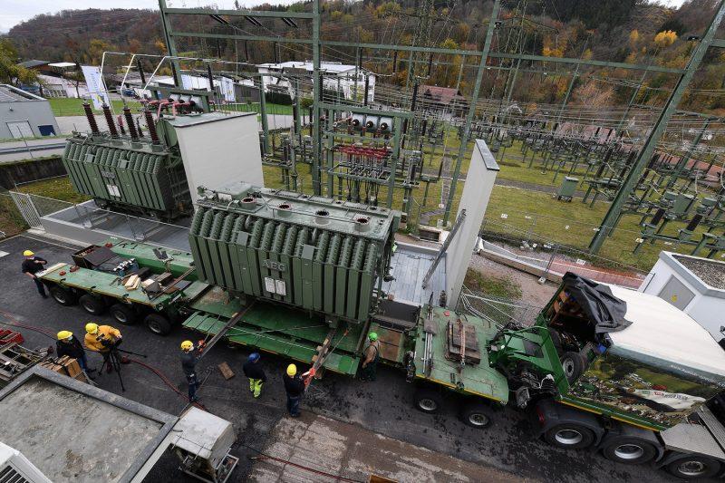Umspannwerk Wehr, ED Netze GmbH, Foto: Juri Junkov