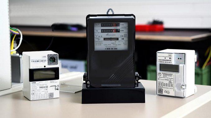 Seit 2017 werden analoge Zähler durch digitale ersetzt.