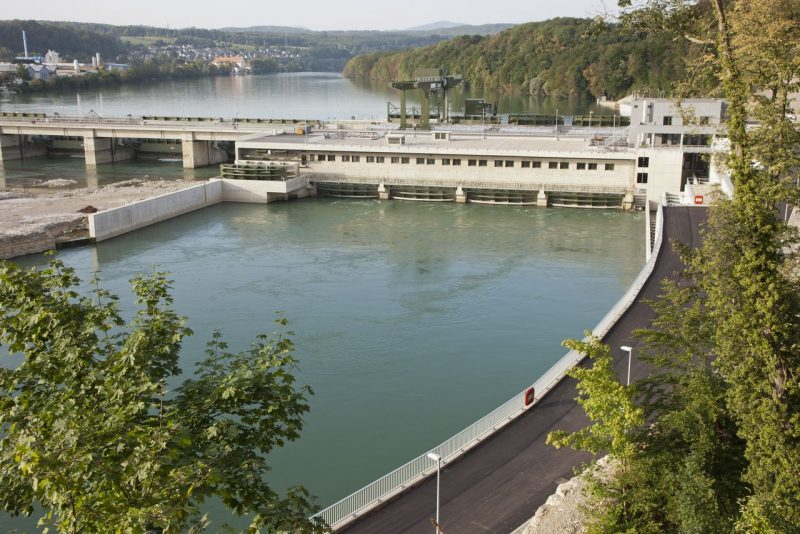 Wasserkraftwerk Rheinfelden des Energieversorgers Energiedienst (Foto: Energiedienst)